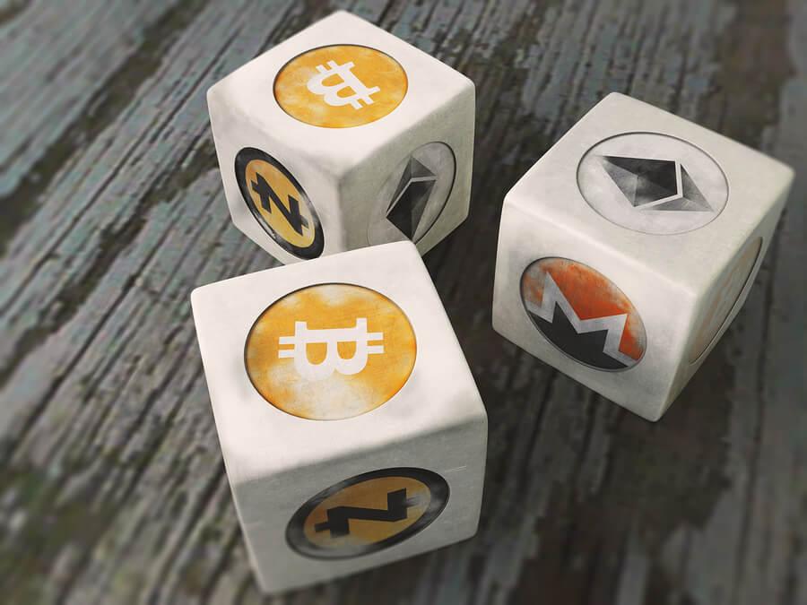 bitcoin gambling process