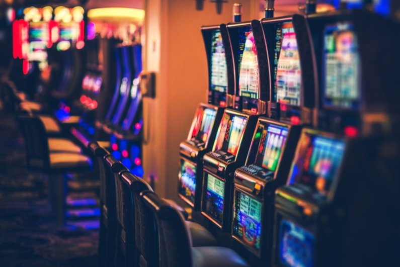 playing slots casino